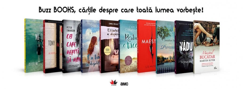 Buzz BOOKS, cărțile despre care toată lumea vorbește!