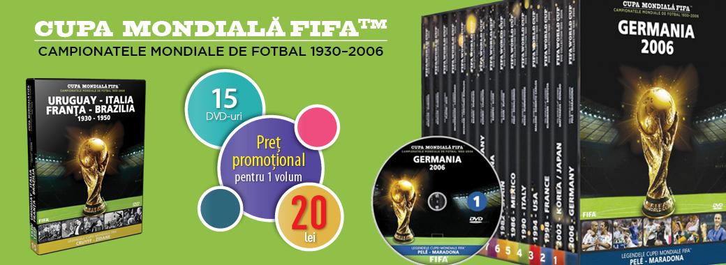 Colecția Campionatele Mondiale de fotbal 1930-2006