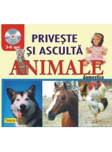 Priveste si asculta animale domestice 3-6 ani
