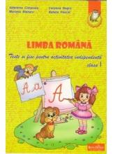 Limba romana cl. 2 Teste si fise pentru activitatea independenta