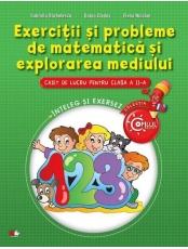 Exercitii si probleme de matematica si explorarea mediului. Caiet cl. a II-a
