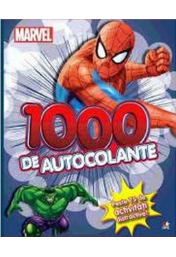Spider-man. 1000 de autocolante si stanta