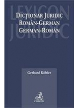 Dictionar juridic roman-german german-roman