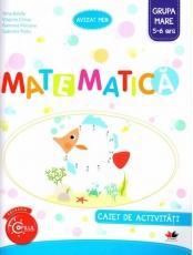 Matematica. Caiet de activitati. Grupa mare 5-6 ani