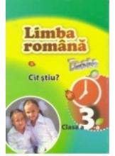 Limba romana Teste cl.3