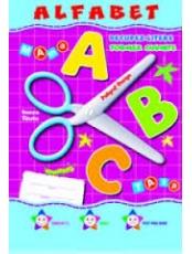 Alfabetul decupat Set planse
