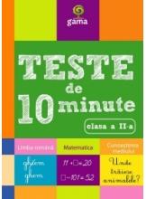 Teste de 10 minute clas II a