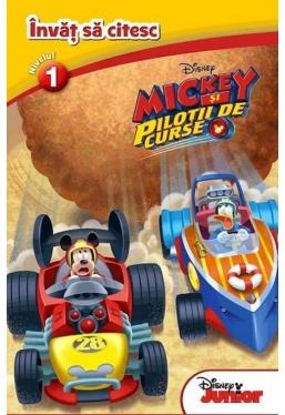 Invat sa citesc Mickey si pilotii de curse (nivelul 1)