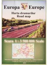 Harta drumurilor Europa 1:3500000