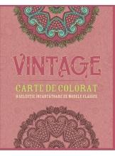 Vintage. Carte de colorat
