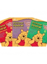 Dictionar ilustrat englez-roman set 3 volume Invat engleza cu Winnie de plus