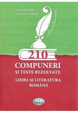 210 compuneri si teste rezolvate Limba si literatura romana