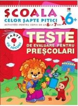 SCSP Teste de evaluare pentru prescolari 6+