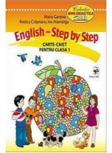 English Step by Step Carte caiet clasa 1
