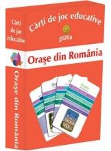 Carti de joc educative -Orase din Romania