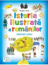 Istoria ilustrata a romanilor pentru copii