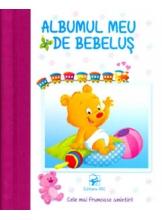 Albumul meu de bebelus Cele mai frumoase amintiri mov albastru