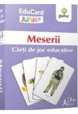 Meserii Carti de joc educative