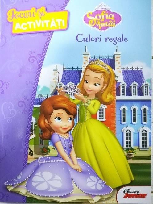 Disney Sofia Intai Culori Regale Jocuri Si Activitati