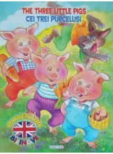 The Three Little Pigs. Cei trei purcelusi