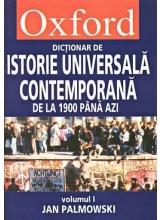 Dictionar de istorie universala contemporana 2 volume OXFORD