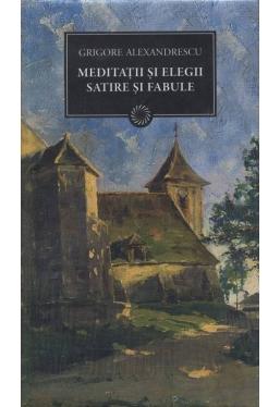 BPT140 Meditatii si Elegii Satire si Fabule
