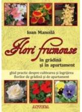 Flori frumoase in gradina si in apartament
