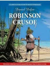 Clasicii literaturii in benzi desenate. Robinson Crusoe