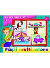 Micul artist plastic. Fasii multicolore