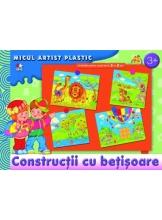 Micul artist plastic. Constructii cu betisoare