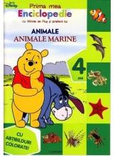 Prima mea enciclopedie cu Winnie de Plus si prietenii lui. Animale marine