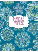 Mandale Fantezie.Carte de colorat.