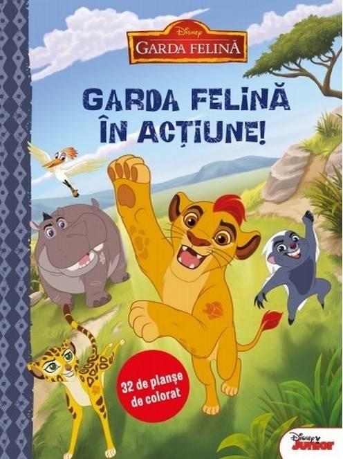 Disney 32 De Planse De Colorat Garda Felina In Actiune