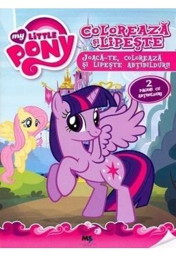 My little Pony Coloreaza si lipeste
