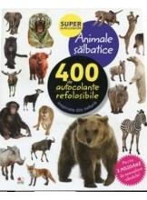 ANIMALE SALBATICE. 400 de autocolante refolosibile