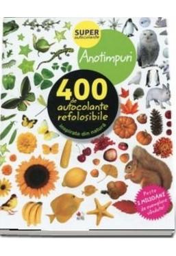 ANOTIMPURI. 400 de autocolante refolosibile