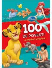 Disney. 100 de povesti cu aventuri uimitoare.