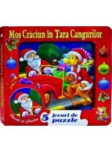 Mos Craciun in Tara Cangurilor. 5 jocuri cu puzzle