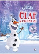 Disney. 32 de planse de colorat. Regatul de Gheata. Olaf si prietenii sai.