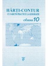 Harti contur cu sarcini practice la geografie cl 10