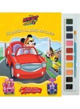 Disney. Mickey Si Pilotii De Curse. Sa Pictam Cu Pilotii De Curse