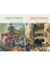Carte pentru toti. Vol. 212/213 SET DON QUIJOTE DE LA MANCHA. (2 volume)