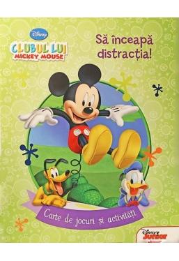 Sa inceapa distractia! Carte de jocuri si activitati. Disney