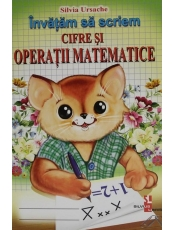 Invatam sa scriem cifre si operatii mat