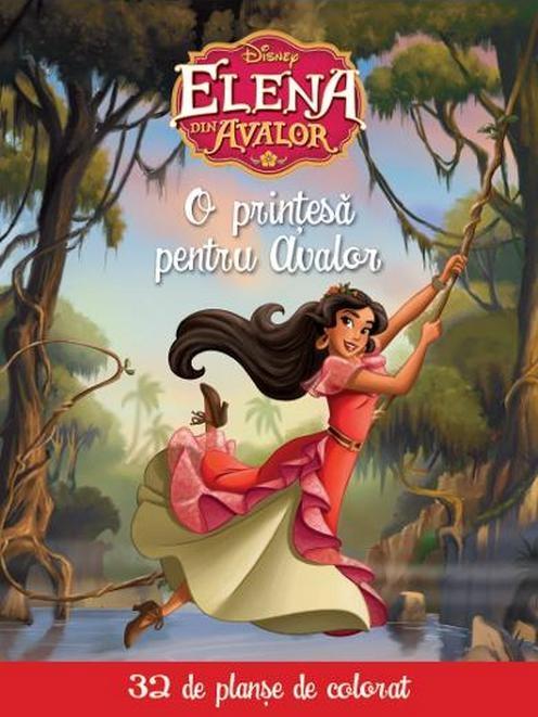Disney 32 De Planse De Colorat O Printesa Pentru Avalor32 Planse