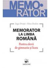 Memorator la limba romana