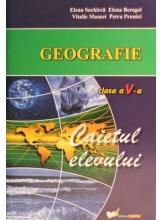 Caietul elevului la geografie cl a V-a