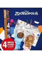 Disney. Zootropolis Lumea magica a culorilor 4 megaplanse