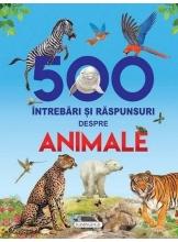 500 intrebari si raspunsuri despre animale - cu holograma