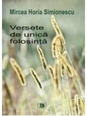 Versete de unica folosinta M.Simionescu